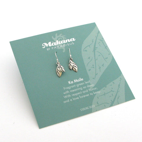 Mini Charm Maile Earrings