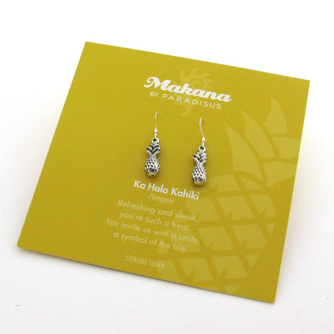 Mini Charm Pineapple Earrings
