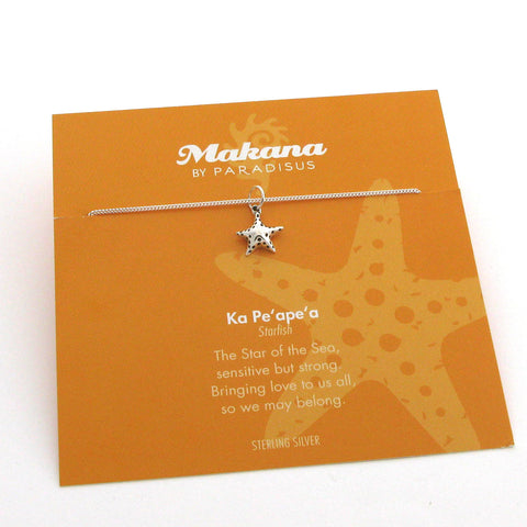 Mini Charm Starfish Pendant