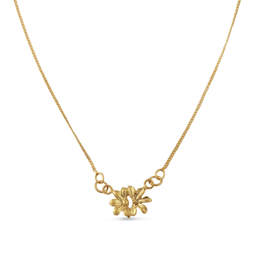 Naupaka Necklace - Vermeil