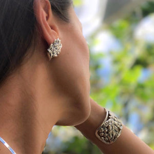 'Ōhi'a Lehua Earrings