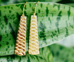 Uhu Earrings Short - Vermeil