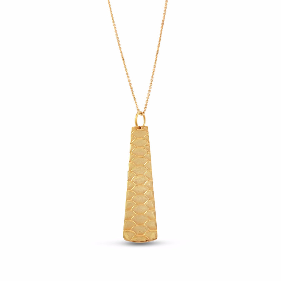 Uhu Short Necklace - Vermeil