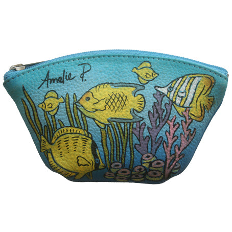 Tropical Fish Coin Purse