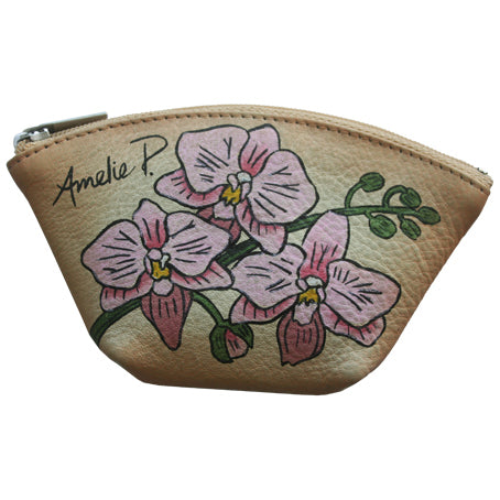 Soft Orchid Coin Purse