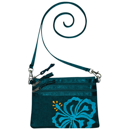 Silk Hibiscus Bag