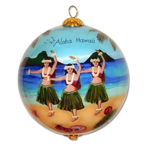 Hula in Paradise Hawaiian ornament