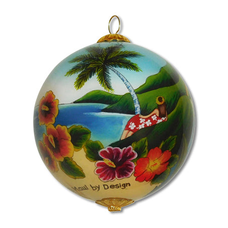 Scenic Old Hawaii Ornament