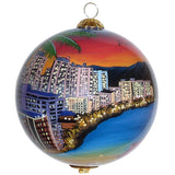 Waikiki Christmas Ornament
