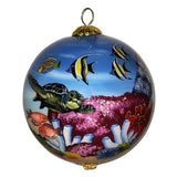 Coral Arches with Sea Turtles Hawaii Ornament