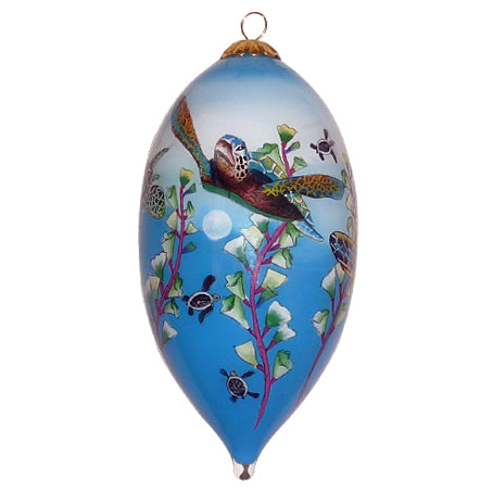 Turtle Paradise Hawaii Ornament