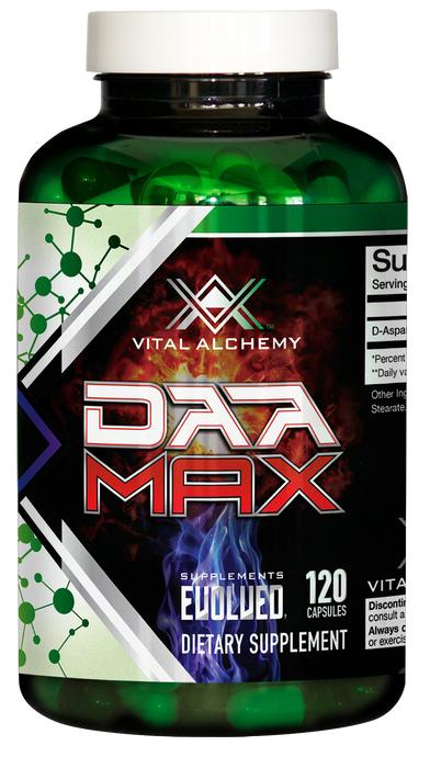 daa max, vital labs, Test booster, Lean Mass, Post cycle, Test, Testosterone, D Aspartic Acid, Post Cycle Therapy, d-aspartic acid, Vital Alchemy, testosterone booster, test booster, body building, low testosterone