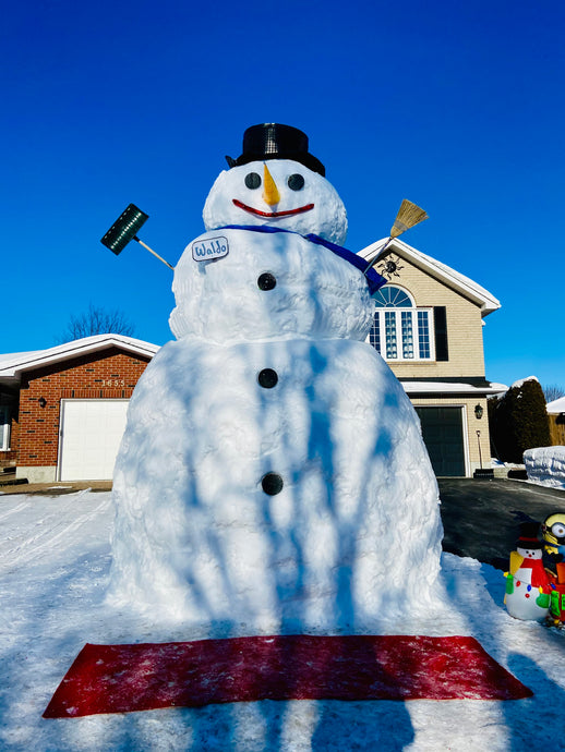 Where to Find Waldo, Ottawa's Largest Snowman