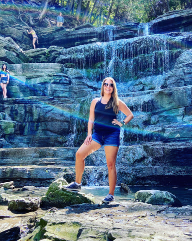 Princess Louise falls in Orleans Ottawa East, What to do in Ottawa this weekend, Ottawa afternoon itinerary, Ottawa waterfall, Ottawa trails and activities, outdoor Ottawa adventures, Ontario waterfall in the city