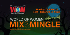 WOW Mix and Mingle Halloween Event