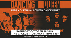 Abba and Queen Halloween Dance Party