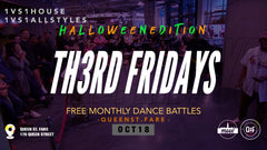 Th3rd Fridays Halloween at Queen St Fare