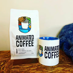 Animated Coffee, Canadian Small Batch Coffee that Donates to Charity, Ottawa Coffee