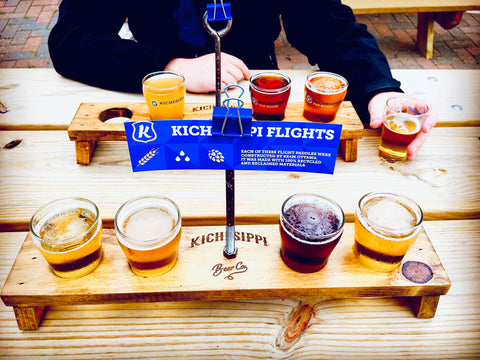 Craft breweries in Ottawa, Kichesippi beer flight, Brews and views, Ottawa beer and local trails, Ottawa brewery guide and hiking trails, Ontario hikes and beer