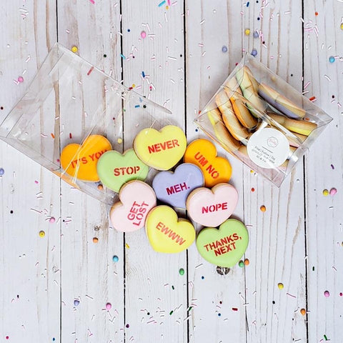 Heart Sugar Cookies, Hello Dolly Pastries Signature Valentines Day Collections