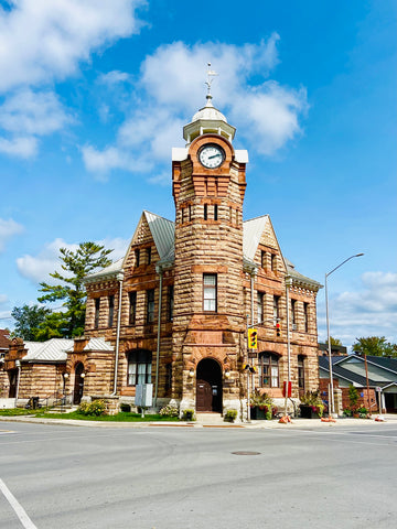 Arnprior District Museum and town Hall, exploring historic lumbering town in the Ottawa Valley, day trips from Ottawa, explore small towns near Ottawa, where to eat and shop in Arnprior Ontario, what to do in Renfrew County, Ottawa west