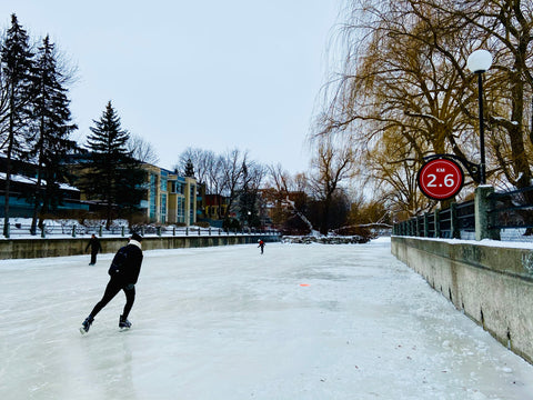 Rideau Canal Skateway, Longest Outdoor Skating Rink in the World, in Ottawa