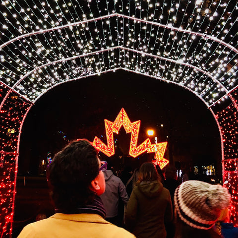 Christmas Lights Across Canada, Canadian holiday lights