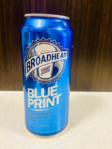 Broadhead Beer Blue Print