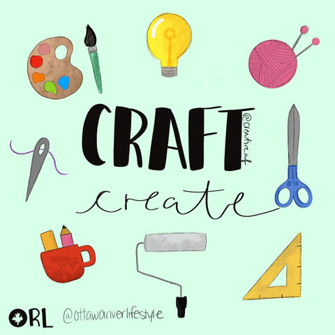 Craft and Create 30 Day Challenge Artwork Canada, How to get Creative During Covid Lockdown