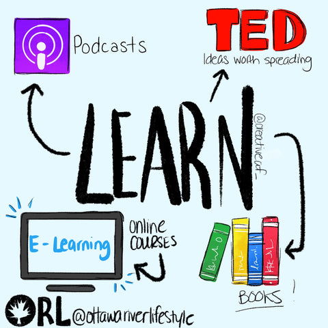 Ottawa Education, Ottawa Podcasts, Learn in Ottawa, Local Ottawa Products and Activities