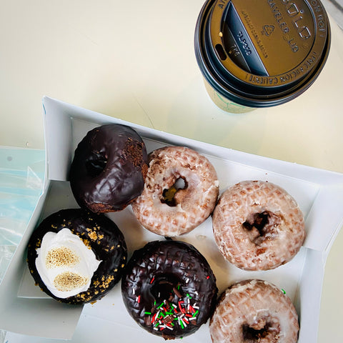 Mavericks Donuts and Happy Goat Coffee, Westboro cafe and bakery, Ottawa treats and drinks, fresh donuts and locally roasted coffee in Ottawa, where to shop in Westboro, Westboro doughnuts