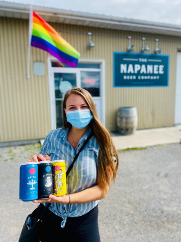 Napanee Beer Company, What to do in Napanee and Bath, Ontario breweries, visiting Lennox & Addington County, road trips from Ottawa, day trips from Kingston, craft beer in Napanee Ontario, what to do in Napanee and Bath, Naturally L+A, Blacklist beer