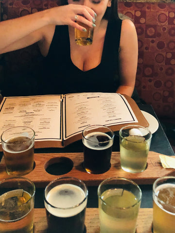 Mill Street Brewing Canadian Girl Beer Flight