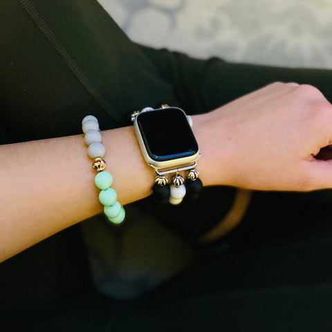 I Bracelets YQR, Canadian made beaded bracelets and Apple Watch bands