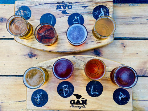 Gananoque Brewing Company, GAN brewing in 1000 islands, Ontario craft breweries, what to do in 1000 islands Gananoque, top Ontario Canadian destinations, where to eat & drink in Gananoque, outdoor patios 1000 islands Gananoque, top attractions in 1000 islands, live music Gananoque, what towns to stop in on Ontario road trip, best things to do in 1000 islands, top views Ontario, top Ontario breweries, fun Ontario cities, flights of beer in 1000 islands, tours in 1000 islands Ontario, road trips from Ottawa, brewery hopping in Ontario Canada, attractions 1000 islands, Gananoque activities & events