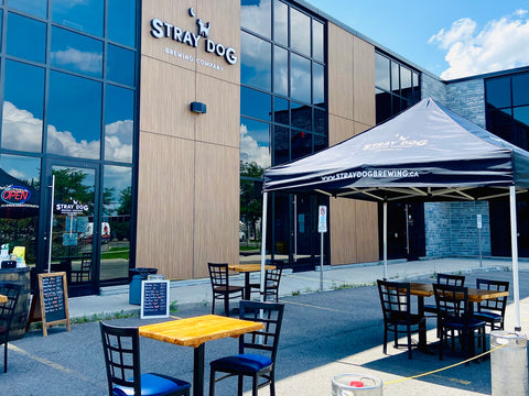 Stray Dog Brewery, Ottawa Craft brewery in Orleans near Broadhead brewing and princess Louise falls, Ottawa itineraries, what to do in Ottawa this spring, springtime in Ottawa Ontario