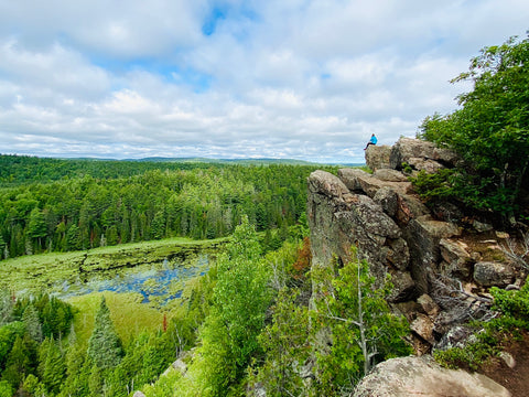 Eagles Nest Lookout Manitou Mountain Trail Calabogie, Guide to Hiking in Calabogie