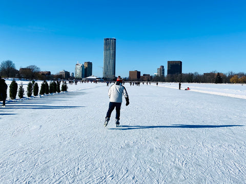 Skating the Rideau Canal Skateway in Ottawa Ontario, World's Largest Outdoor Skating Rink, Access to the Canal, Dow's Lake