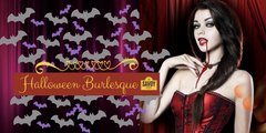 Halloween Burlesque Show and Dinner Savoy