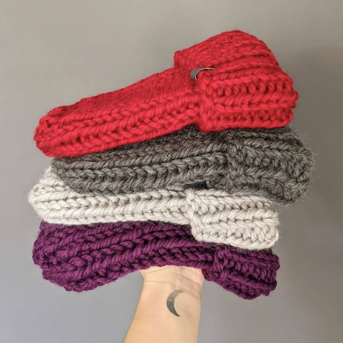 Cozy Knits, Knitted Hats, Ottawa Knitted Toques Mittens and Headbands