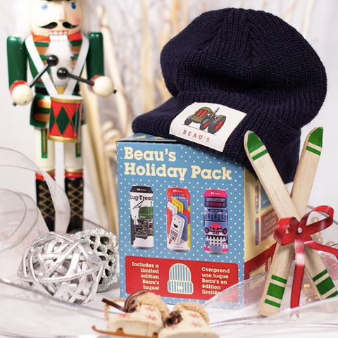 Beau's holiday mix pack of beer, Christmas beer gift box