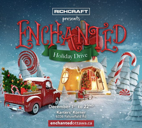 Enchanted Ottawa, Drive through Christmas Light Experience