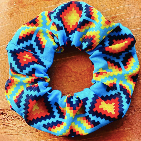 Kokom Scrunchies, Ottawa Gatineau Indigenous Made Scrunchies
