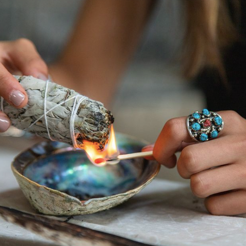 Tribal Trade Co, Indigenous Marketplace, Smudging Sage