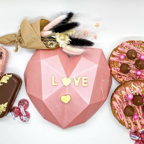 Toro Treats, Sinful Cookie Bouquet, Breakable Chocolate Hearts and Other Valentines Treats