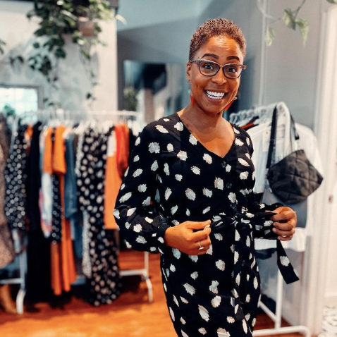 Village Envy Online Boutique in Ottawa, Blacked Owned Shop, Pop up shop at Thirsty Maiden