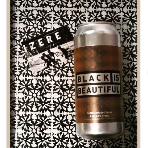 Izere Coffee, Coffee Infused Stout Black is Beautiful, Beyond the Pale Collaboration, black owned business Ottawa