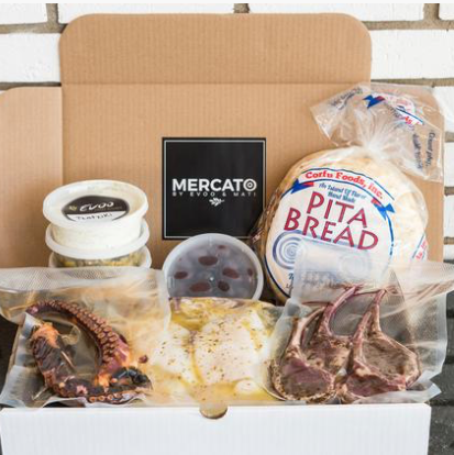 Mercato Ottawa, Mediterranean Food to Take Home, Meals by Evoo Greek and Mati, Greek kit