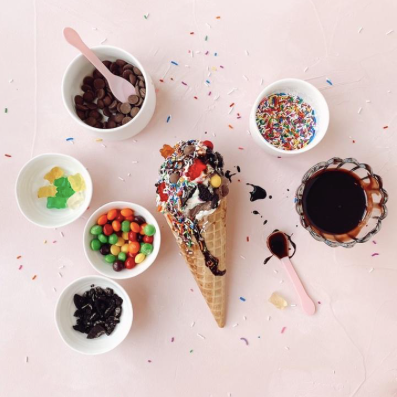Jojo's Creameria Ice Cream Kits, DIY Sundaes at home in Ottawa, make your own sundae