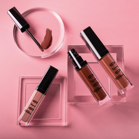 Poro Cosmetics, Black owned luxury makeup brand, Black owned lipsticks and lipgloss, Canadian made makeup